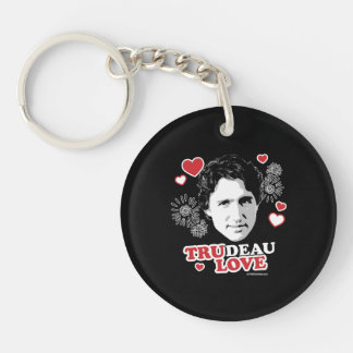 Trudeau Love -.png Keychain