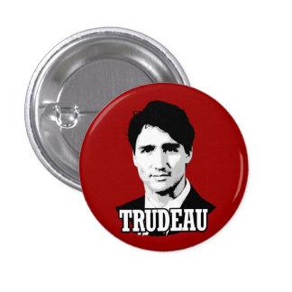 Trudeau Pin Redondo De 1 Pulgada