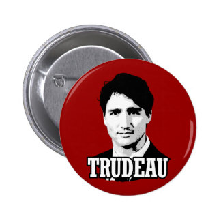 Trudeau Pinback Button