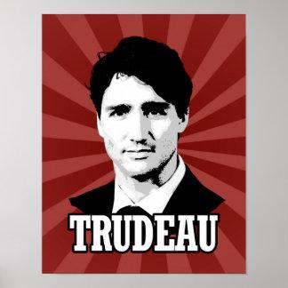 Trudeau Póster