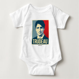 Trudeau Propaganda Poster -.png Baby Bodysuit