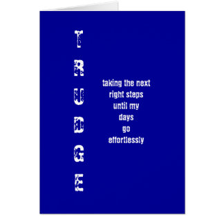 TRUDGE GREETING CARDS