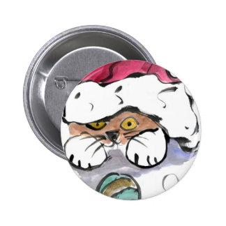 Trudy está ocultando en el gorra de Santa Pin