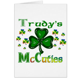 Trudys McCuties Cards