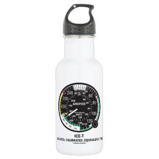 True Airspeed Indicator (ICE-T Mnemonic) Stainless Steel Water Bottle