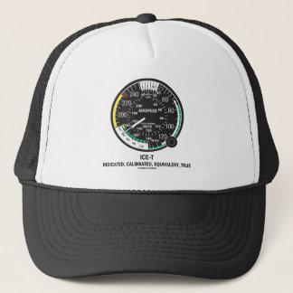 True Airspeed Indicator (ICE-T Mnemonic) Trucker Hat
