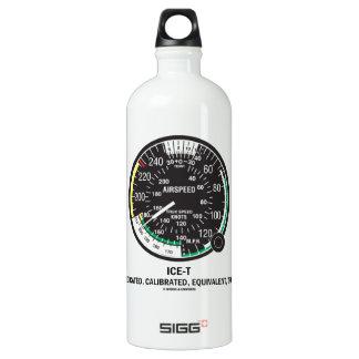 True Airspeed Indicator (ICE-T Mnemonic) Water Bottle