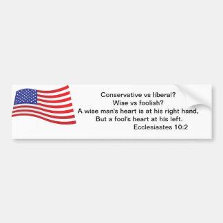 True American Bumper Sticker