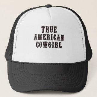 True American Cowgirl Trucker Hat