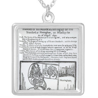 True and Exact Relation of  Manner of Majesty's Silver Plated Necklace