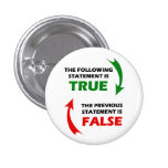True and False Statements Pins