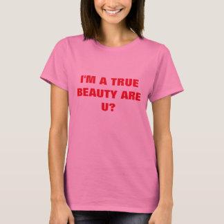 True Beauty Are U Design Women's T-shirt