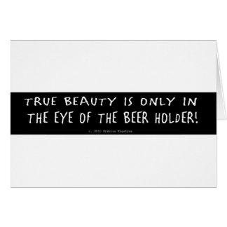 TRUE BEAUTY CARD