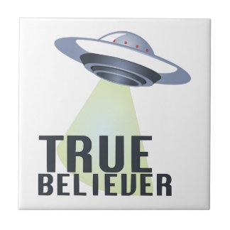 True Believer Ceramic Tile