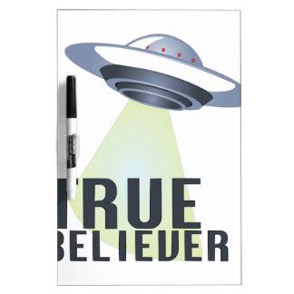 True Believer Dry Erase Board