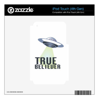True Believer iPod Touch 4G Decal