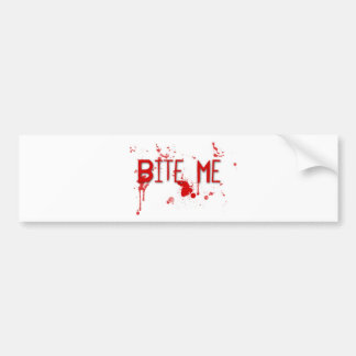 "True Blood ""Bite Me"" Bumper Sticker"