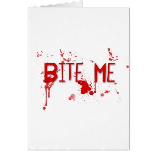 "True Blood ""Bite Me"" Cards"