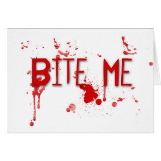 """True Blood """"Bite Me"""" Card"""