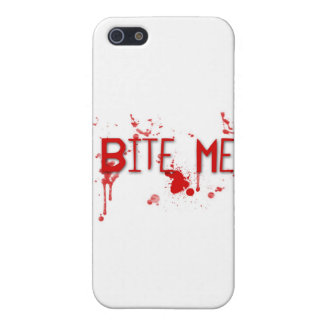 "True Blood ""Bite Me"" iPhone SE/5/5s Cover"
