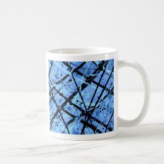 TRUE BLUE (an abstract art design) ~ Classic White Coffee Mug
