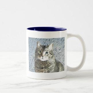 True Blue Kitty Coffee Mugs