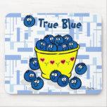 True Blue Mouse Pad
