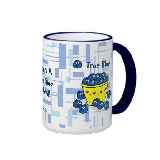 True Blue Coffee Mugs