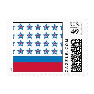 True Blue Postage Stamp