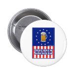 True Brew American 2 Inch Round Button