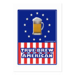 True Brew American Large Business Cards (Pack Of 100)
