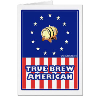 True Brew American Wine Card