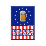 True Brew Americans Large Business Cards (Pack Of 100)