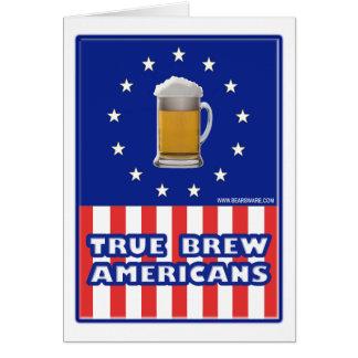 True Brew Americans Card