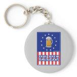 True Brew Americans Keychains