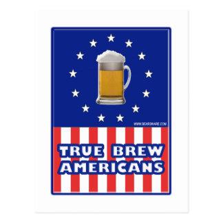 True Brew Americans Postcard