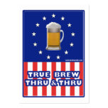 True Brew Thru & Thru Large Business Cards (Pack Of 100)