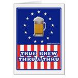 True Brew Thru & Thru Card