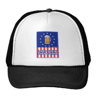 True Brew Thru & Thru Mesh Hats