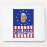 True Brew Thru & Thru Mouse Pad