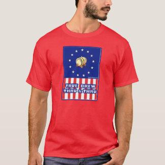 True Brew Thru & Thru Wine T-Shirt