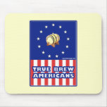 True Brew Wine Americans Mouse Pads