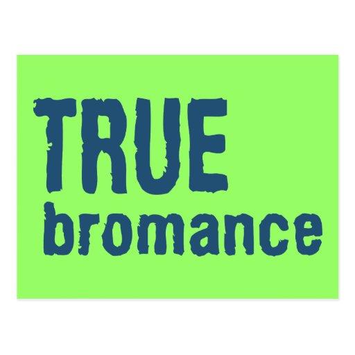 True Bromance (Blue) Postcard