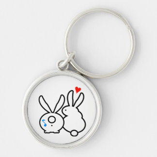 True Bunneh Love Keychain