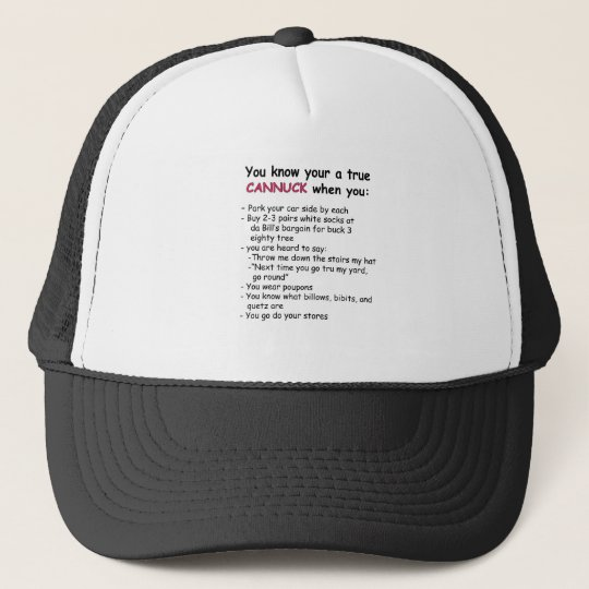 True Cannuck Hat