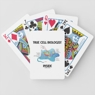 True Cell Biologist Inside (Eukaryote) Bicycle Playing Cards