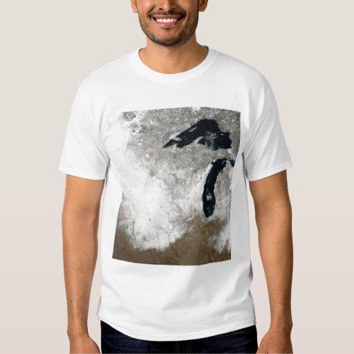 True-color image of snow shirt