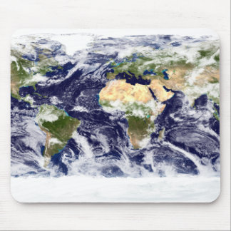 True-color image of the entire Earth Mouse Pad