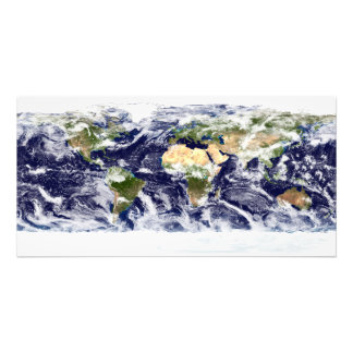 True-color image of the entire Earth Photo Print