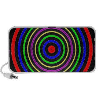 TRUE Color Meditation Mandala Evolution Revolution iPhone Speaker